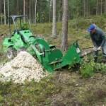 Переработка древесной коры